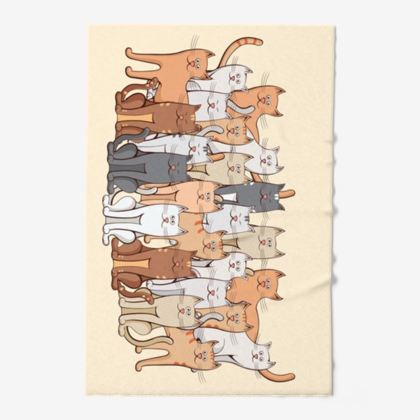 Полотенце «Коты»