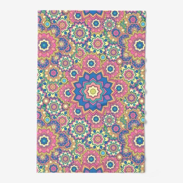 Полотенце «Цветочный орнамент»