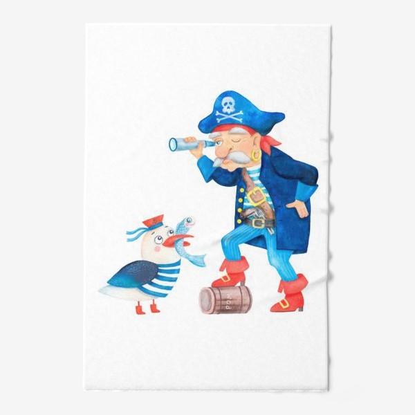 Полотенце «Пират и чайка»