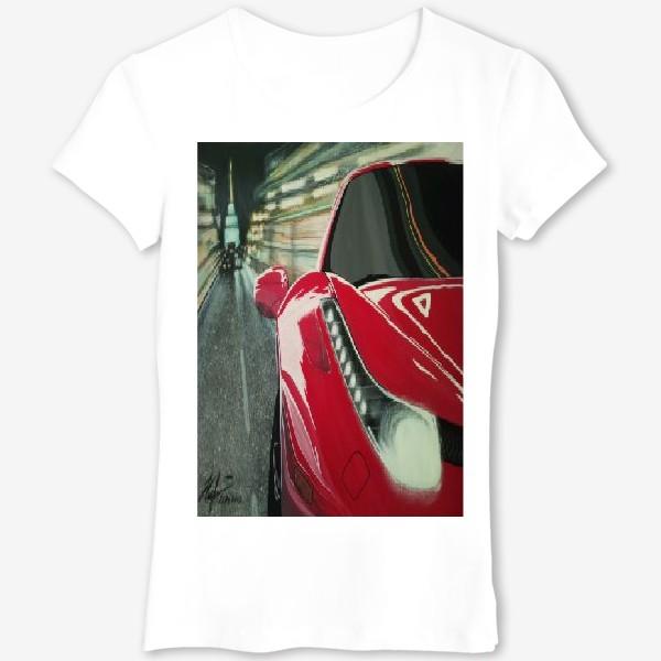 Футболка «Ferrari 458.»