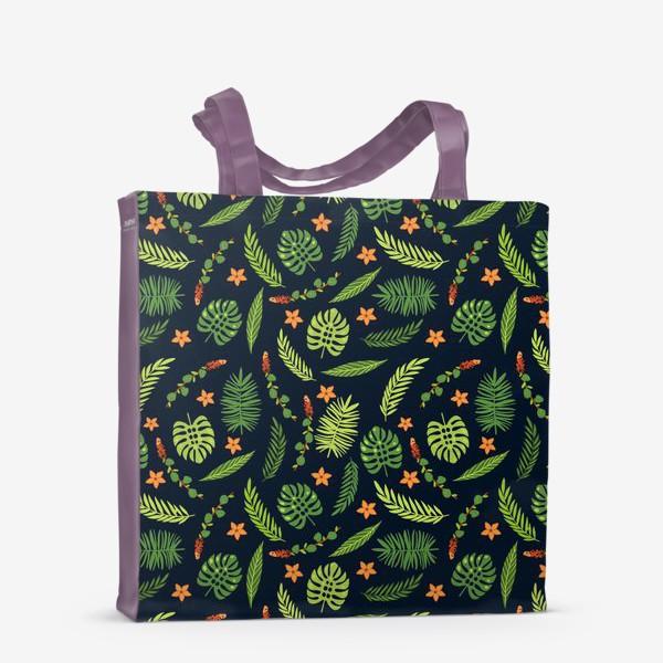 Сумка-шоппер «Зеленые тропики»