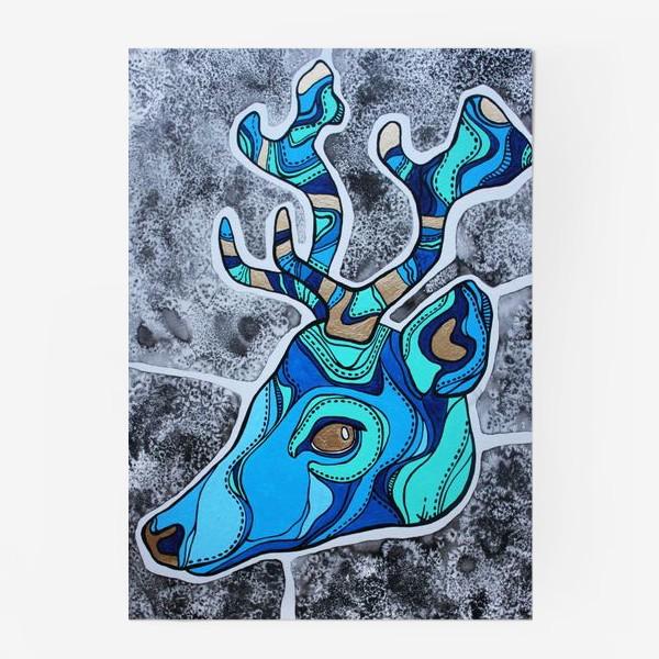 Постер «Голубой олень»