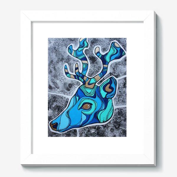 Картина «Голубой олень»