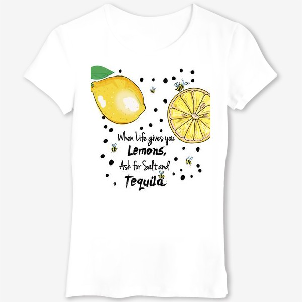 Футболка «Лимонный»