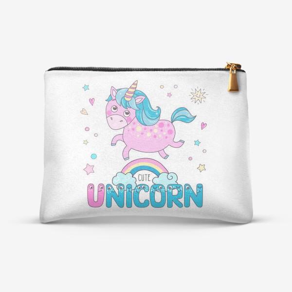 Косметичка «Cute unicorn»
