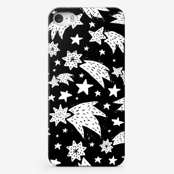 Чехол iPhone «Ночные падающие звезды»