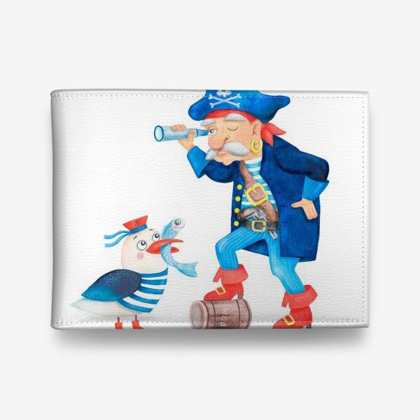Кошелек «Пират и чайка»