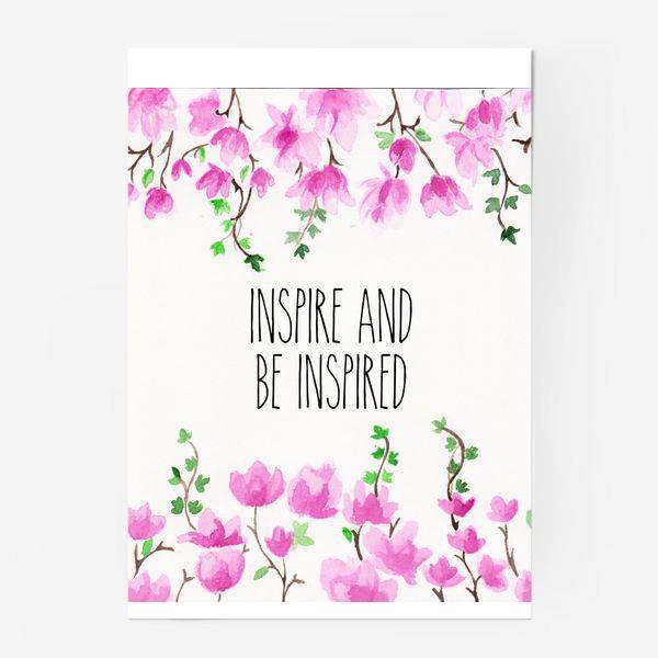 Постер «Inspire_Вдохновляй»