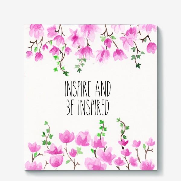 Холст «Inspire_Вдохновляй»