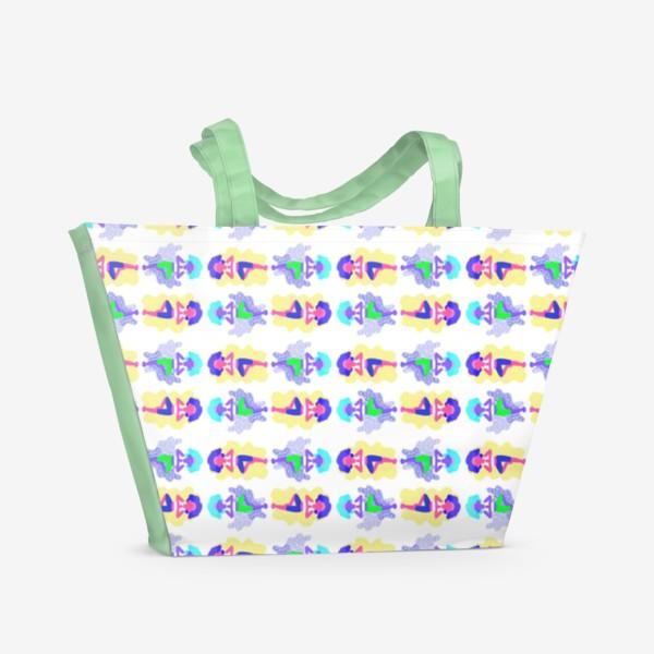 Пляжная сумка «Йога девчонки»