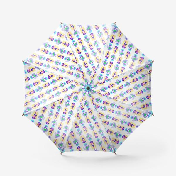 Зонт «Йога девчонки»