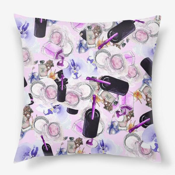 Подушка «Fashion Nails Орхидея Лак Пудра»