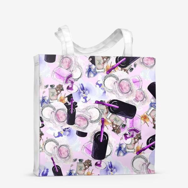 Сумка-шоппер «Fashion Nails Орхидея Лак Пудра»