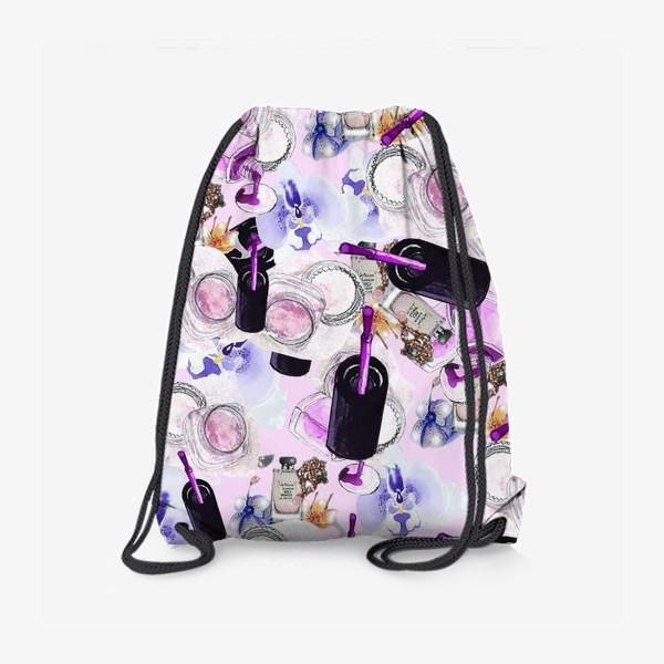 Рюкзак «Fashion Nails Орхидея Лак Пудра»