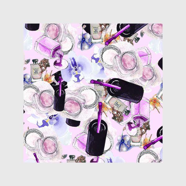 Шторы «Fashion Nails Орхидея Лак Пудра»