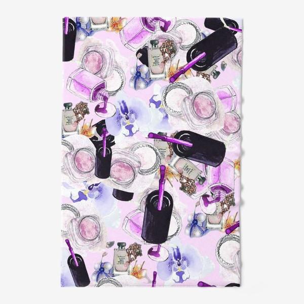 Полотенце «Fashion Nails Орхидея Лак Пудра»