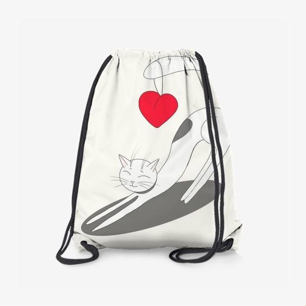 Рюкзак «Влюбленный кот»