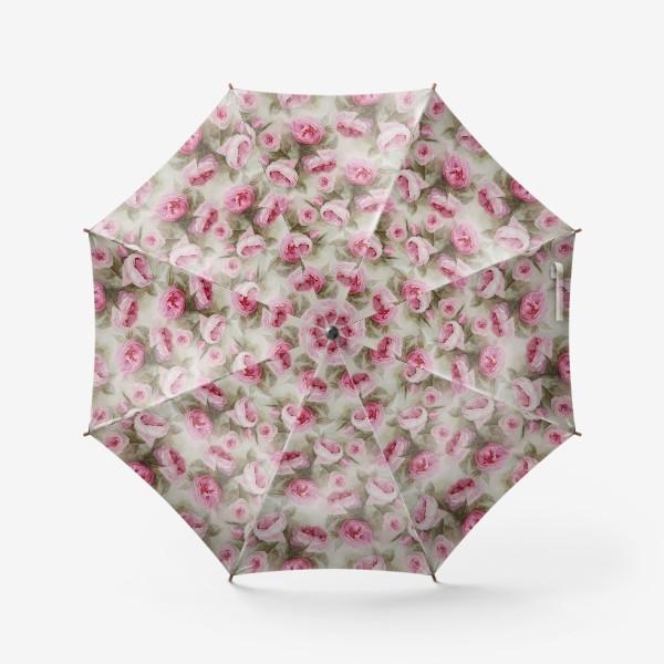 Зонт «Розы. Романтика.»