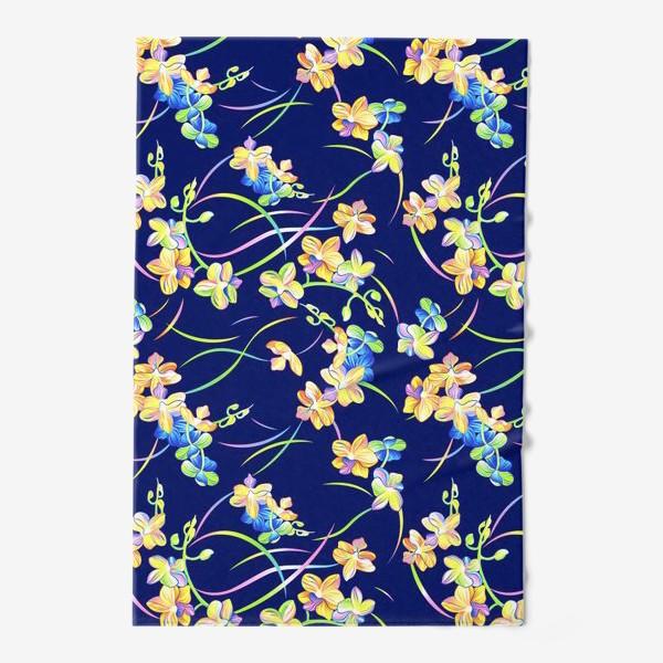 Полотенце «Тропические орхидеи»