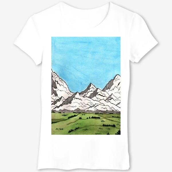 Футболка «Горы»