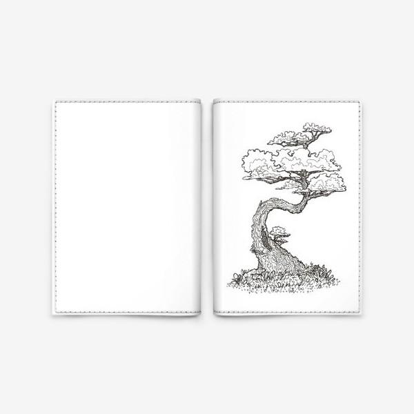 Обложка для паспорта «волшебный лес»