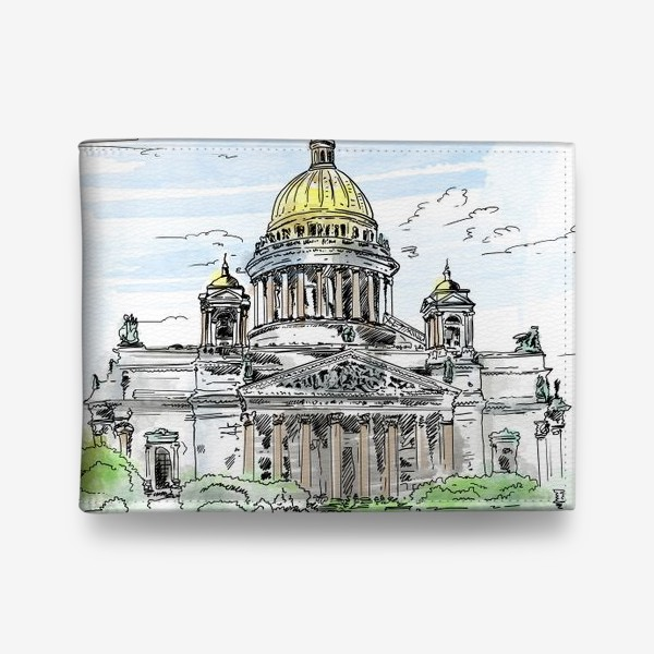 Кошелек «Санкт-Петербург - Исаакиевский собор»
