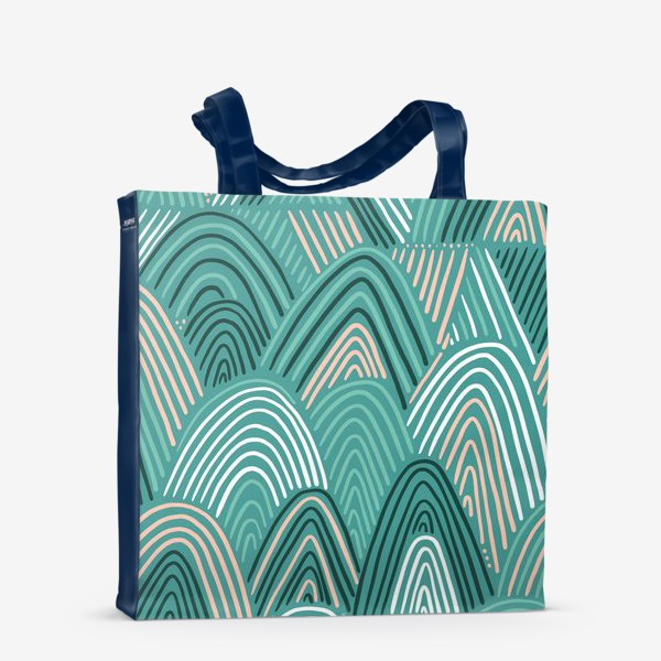 Сумка-шоппер «Abstracts rainbow»