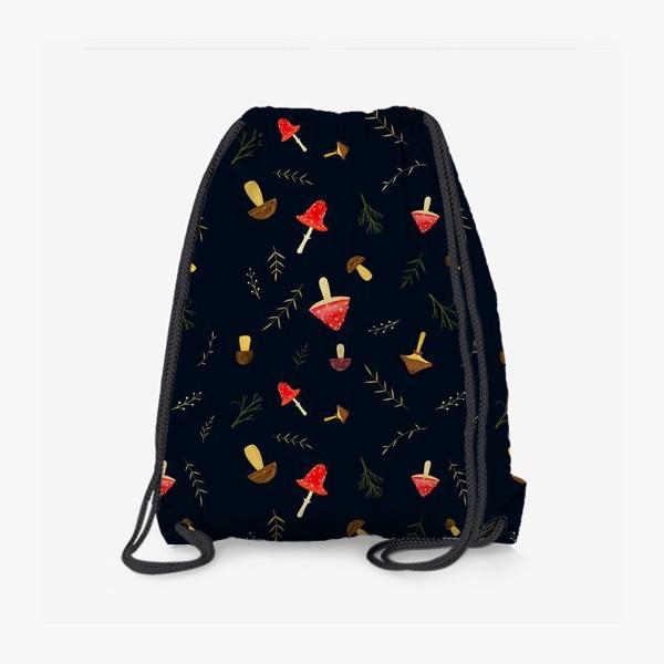 Рюкзак «Hello Autumn. Amanita mushroom»