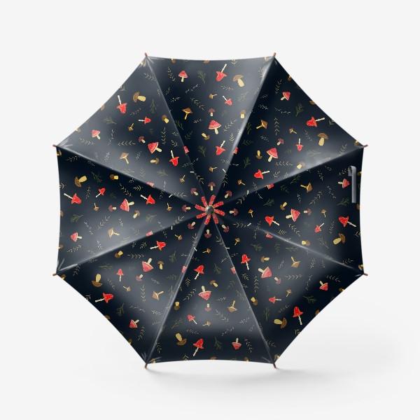 Зонт «Hello Autumn. Amanita mushroom»