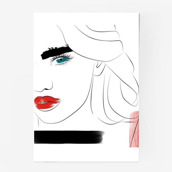 Постер «  Арт девушка»
