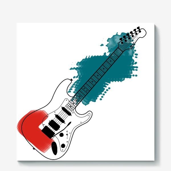 Холст «Арт гитара»