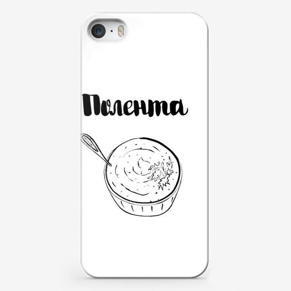Чехол iPhone «Полентта - блюдо итальянской кухни»