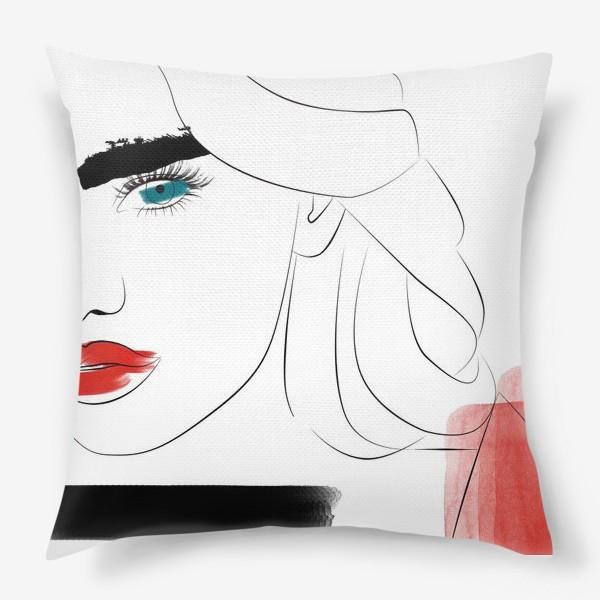 Подушка «  Арт девушка»