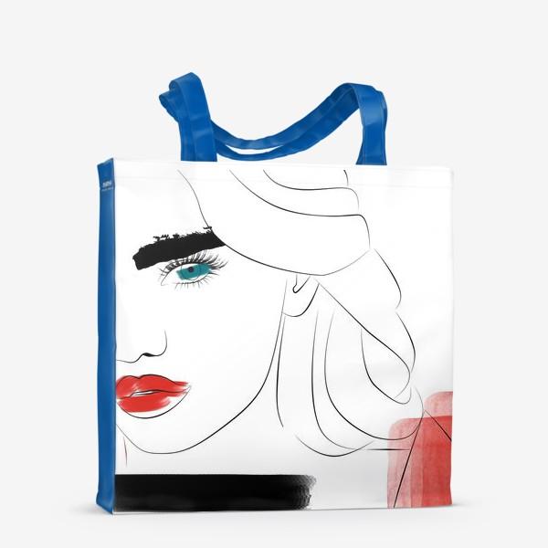 Сумка-шоппер «  Арт девушка»