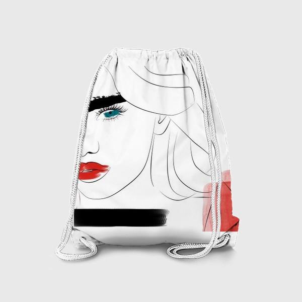 Рюкзак «  Арт девушка»