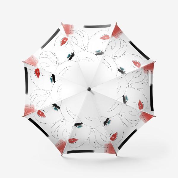 Зонт «  Арт девушка»