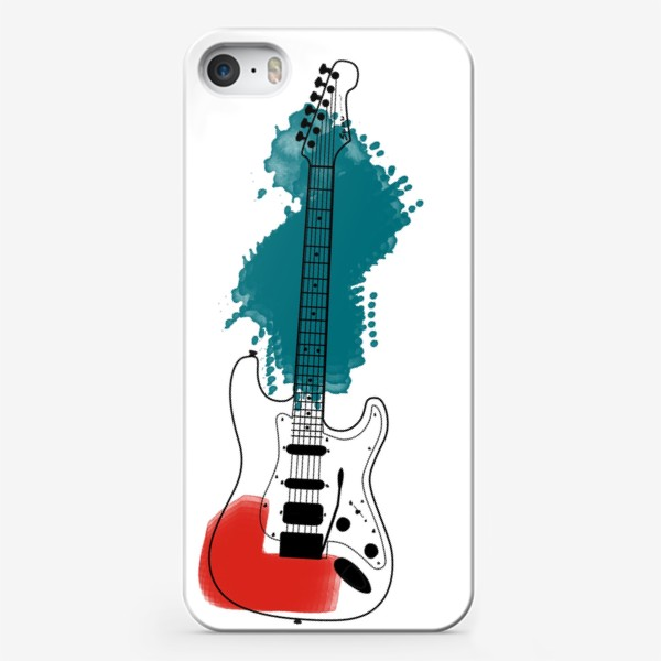 Чехол iPhone «Арт гитара»