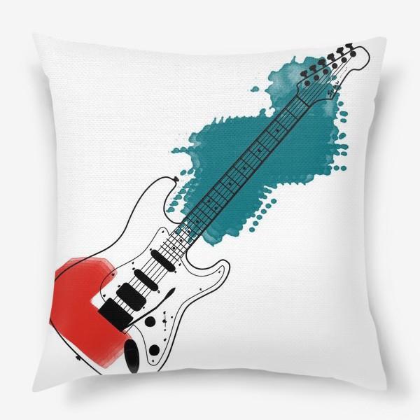 Подушка «Арт гитара»
