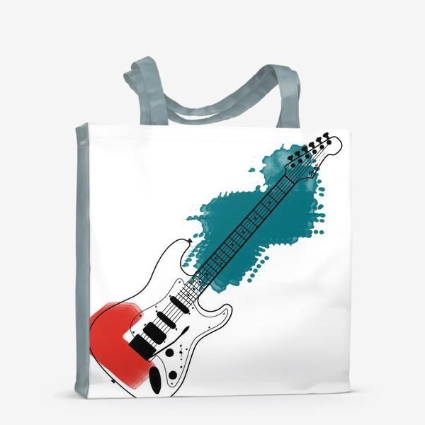 Сумка-шоппер «Арт гитара»