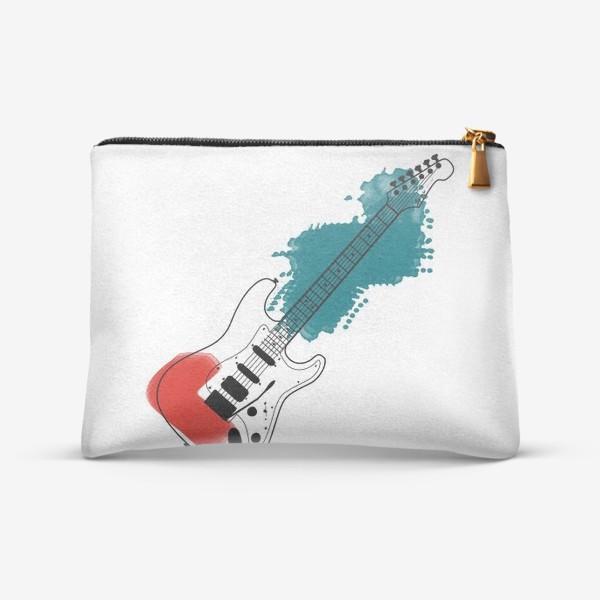 Косметичка «Арт гитара»
