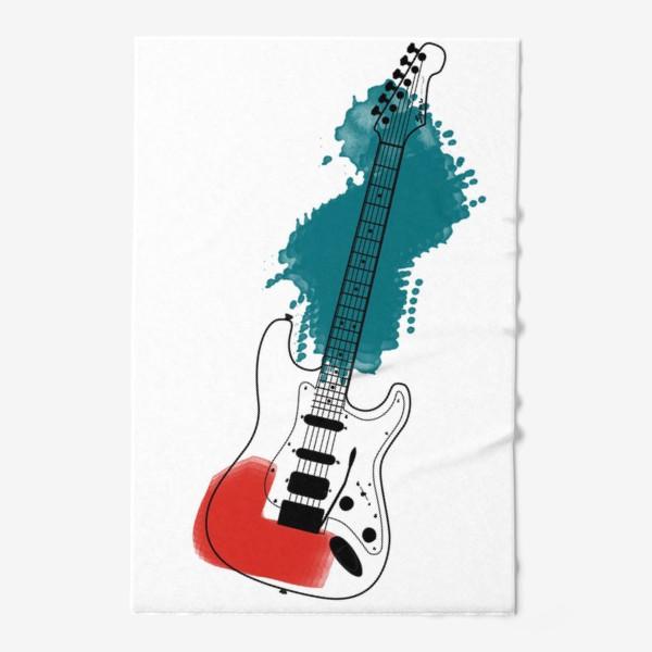 Полотенце «Арт гитара»