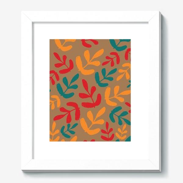 Картина «Разноцветные листья осени»