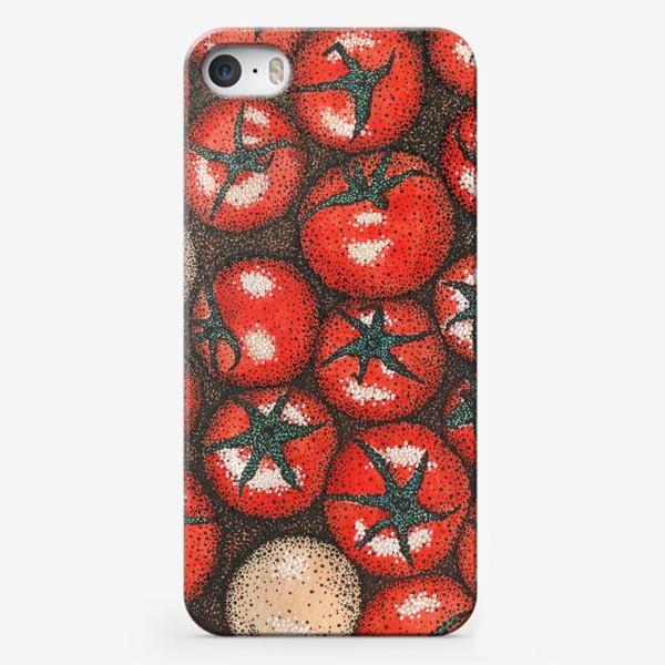 Чехол iPhone «Помидорки»