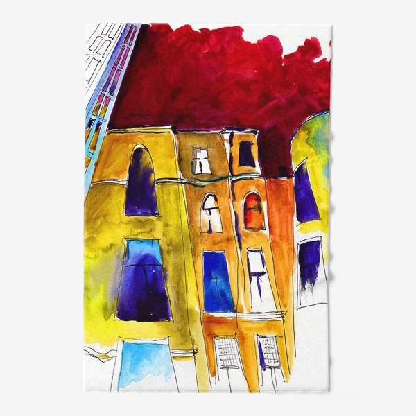 Полотенце «Питерские дворики»