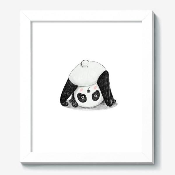 Картина «Панда-йога»
