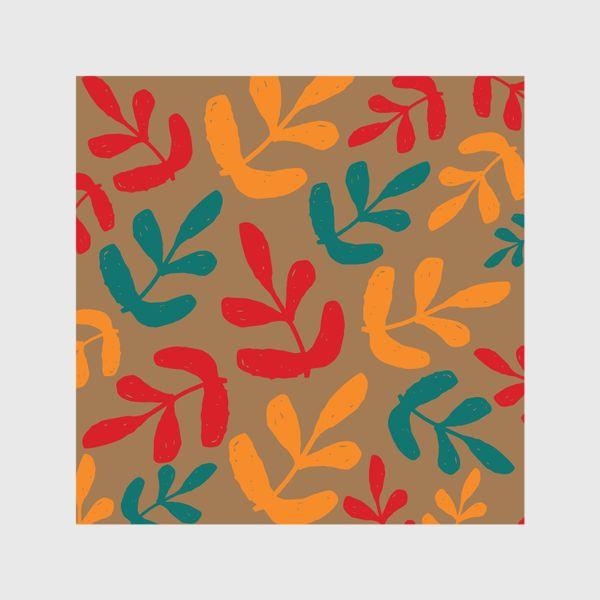 Шторы «Разноцветные листья осени»