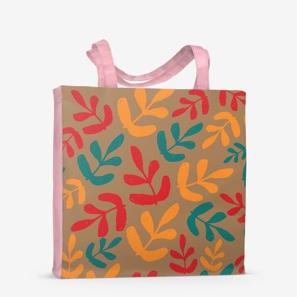 Сумка-шоппер «Разноцветные листья осени»