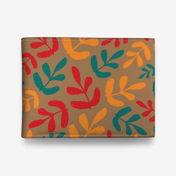Кошелек «Разноцветные листья осени»