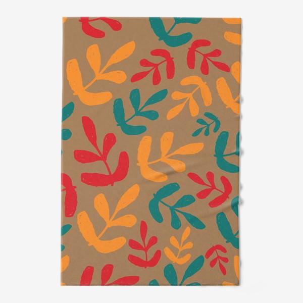 Полотенце «Разноцветные листья осени»