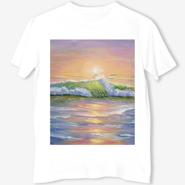 Футболка «Восход над морем»